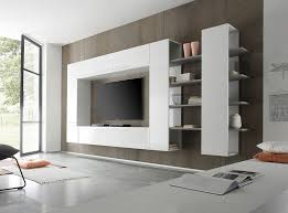 Wall Units Awesome Modern Living Room Photos Floating White Wooden Cabinet