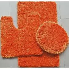 Bright Red Bathroom Rugs by 12 Excellent Orange Bath Rugs Inspiration For You U2013 Direct Divide