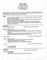Hvac Resume Samples D87H Technician Resumes Blackdgfitness