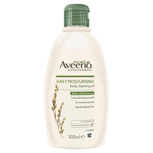 Aveeno Daily Moisturizing Body Cleansing Oil - 300ml