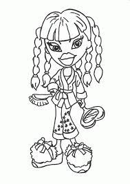 Bratz Coloring Pages To Print 3
