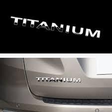 100 Ford Stickers For Trucks Titanium Emblem Sticker Decal For New Ecosport Old Ecosport Ranger Everest Etc