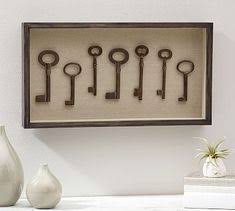 Key Shadow Box Wall Art Potterybarn
