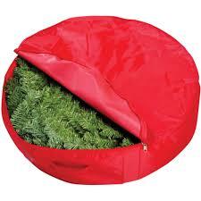Meijer Christmas Tree Bag by General Products Christmas Wreath Storage Bag Walmart Com