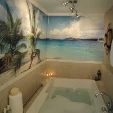 meer thema tapete für badezimmer strand themenorientierte