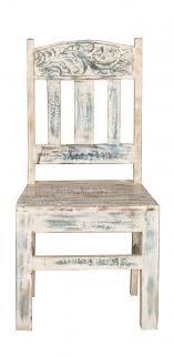 4x vintage möbel stuhl 46x100x50cm massiv