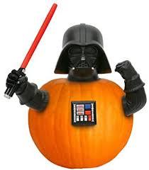 amazon com darth vader pumpkin push in star wars halloween