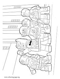 The Lego Movie Coloring Sheet In This Picture Are Heroes Batman Cyborg Green Lantern Robin And Flash