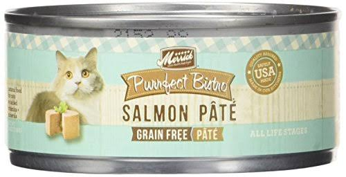 Merrick Purrfect Bistro Grain Canned Cat Food - Salmon Pate, 5.5oz
