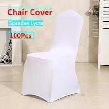 100PCS Chair Covers White Spandex Folding Chair Covers For Wedding ... Amazoncom Balsacircle 10 Pcs Rose Quartz Pink Spandex Stretchable Chairs Set By Green Lawn Preparation Stock Photo Edit Now White Folding Wedding Reception The Best Picture In Ideas Pretty Unique Seating Inside Weddings 16 Easy Chair Decoration Twis Youtube Reception Tables With Tall Upright Nterpieces And Wooden Ipirations Encore Events Rentals Outdoor Waterfront Round Linen Tables Supplies 20x Stretched Cover Sparkles Make It Special Black Ivory Arched Beautifully Decorated For Outdoors