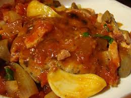 comment cuisiner des crepinettes crepinettes de porc mijotees champignons tomates du jardin