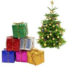 HURRISE Gift Boxes Assorted Colors Miniature 12 24 48pcs Foil Christmas Decoration Ornaments Mini Box Tree DecorationsMulti Color