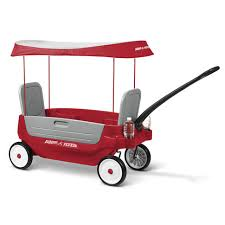 Toys R Us Deluxe Art by Radio Flyer Grandstand Deluxe 3 In 1 Wagon Toys