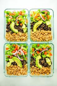 Vegan Meal Prep Recipe Roundup