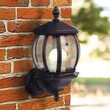 lightx solar powered dusk to led wall light black sl 7010