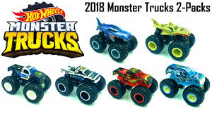 NEW HOT WHEELS MONSTER TRUCK 2018! DEMOLITION DOUBLES REVIEW! - YouTube