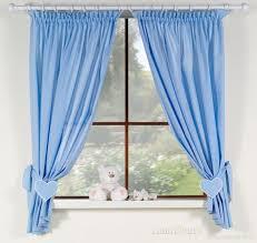rideaux bleu pour chambre bébé garçon ours hamac i rideaux bébé