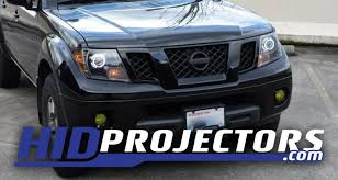 09 nissan frontier headlights with shrouds