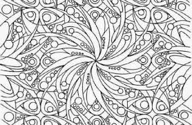 Hard Coloring Page By DR Odd