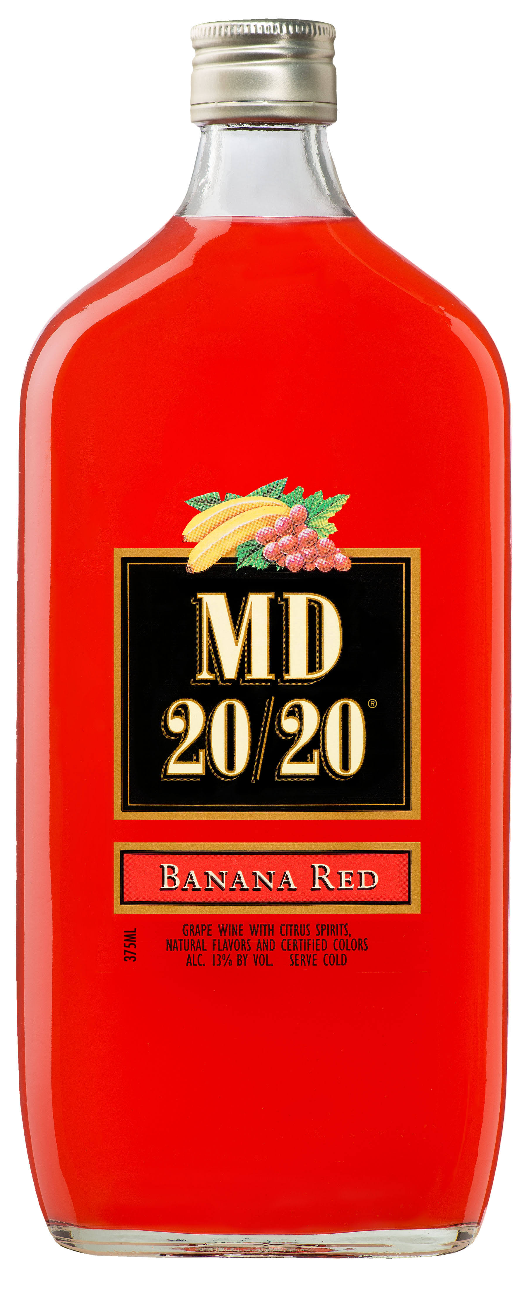 MD 20/20 Banana Red Flavored Wine - 375ml