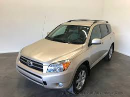 2007 Used Toyota RAV4 1 OWNER LIMITED- LEATHER LOADED-CLEAN RUNS ...