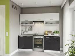 details zu küche 220 cm hochglanz küchenzeile küchenblock einbauküche komplett küchen