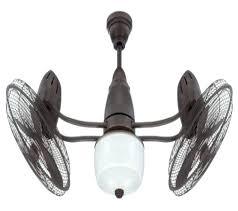 Flush Mount Dual Motor Ceiling Fan by Minka Aire Traditional Gyro 1 Light Dual Motor Ceiling Fan Head
