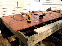 how to build a simple deck hgtv