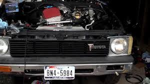 1980 Toyota Pickup With F20c Idling. - YouTube