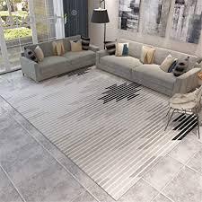de 3d teppich wohnzimmer geometrischer balken
