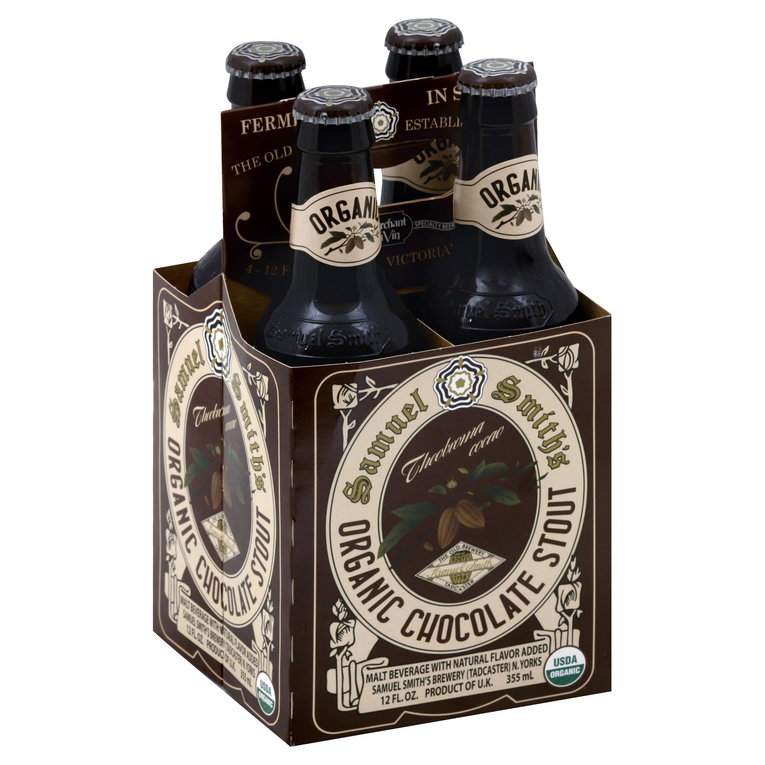 Samuel Smith's Organic Chocolate Stout - x4