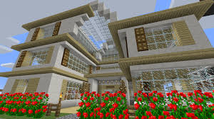 100 Glass House Project House Minecraft