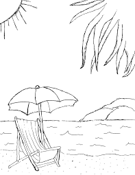 Heavenly View Of The Beach 20 Coloring Pages