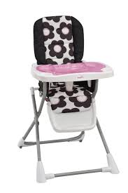compact highly affordable evenflo folding high chair