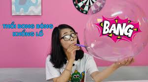 Tile Bong Da Anh by Thổi Bong Bóng Khổng Lồ Từ Keo Thổi Bong Bóng Youtube