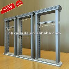The Most Bedroom Factory Price Retail Wood Wall Display Inside Clothing Racks Ideas