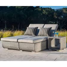 Sirio Patio Furniture Soho by Urban 2 Piece Euro Lounger By Sirio