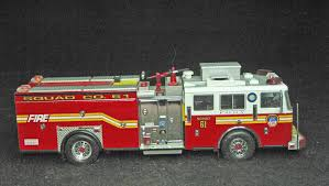 100 Code 3 Fire Trucks 164 Scale Collectables FDNY Squad 61 Favorite Toy Models