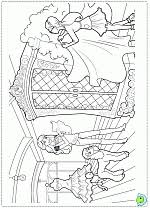 Barbie Fashion Fairytale Coloring Pages Book DinoKidsorg