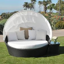 100 Retractable Patio Chairs Daybed Furniture Garden Outdoor Design Outside Cover Daybed