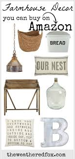 Farmhouse Decor From Amazon Get Awesome Delivered Right To Your Door At Affordable