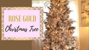 Rose Gold Christmas Tree 2017
