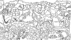 Pics Coloring Jungle Printable Pages For Mandala Abstract Art Free Colouring To