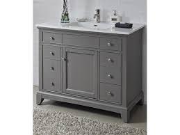 bathroom ideas single sink grey 42 inch bathroom vanity with