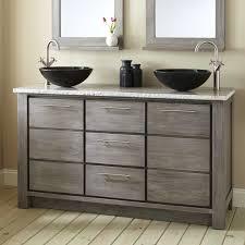 60 Inch Double Sink Vanity Without Top by Teak Vanities Bathroom Vanities Signature Hardware