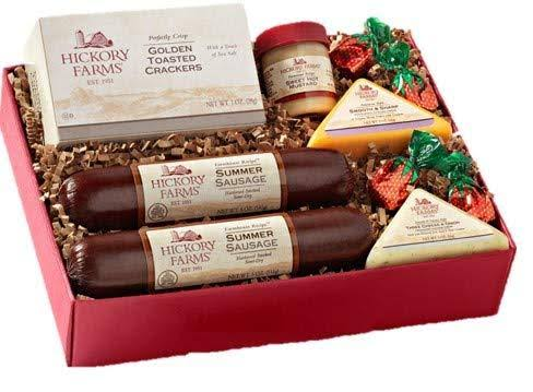 Hickory Farms Holiday Meat & Cheese Sampler