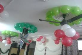 Birthday Decorations Ideas At Home Balloon Decoration On Ceiling For A Wall Party 12