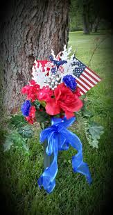 Memorial Day Graveside Decorations by Memorial Day Grave Decorations Patriotic 4th Of July