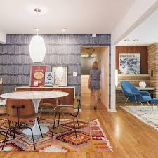 Midcentury Pop Lively Interior Is A Canvas For Easy Living