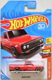 100 Hot Trucks HOT WHEELS 2018 HW HOT TRUCKS MAZDA REPU 110 RED 0007751 256